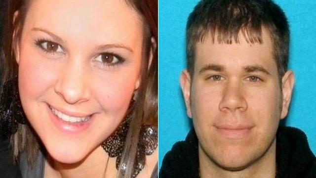 FOTO: La policía anunció en una conferencia de prensa 19 de octubre 2012, que habían encontrado el cuerpo de los desaparecidos de 21 años de edad, Whitney Heichel (L) en Alerce Mountain y Jonathan Holt (R) habían sido detenidos en el caso.