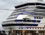 PHOTO: Hole in stern of Carnival Triumph
