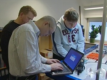 VIDEO: A Danish software company takes advantage of its workers distinctive talents.