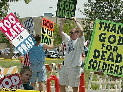 from Jordyn westbrook gay protest soldiers funeral