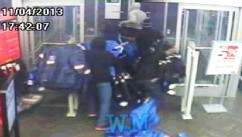 VIDEO: An epidemic of groups of thieves going into stores and running out with unpaid merchandise.