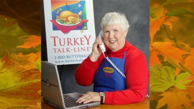 VIDEO: Marge Klindera has been manning Butterballs Turkey Talk-Line for 28 years.