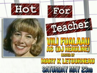 VIDEO: Mary K. Letourneau hosts Hot for Teacher event.