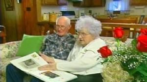 VIDEO: Kansas couple Vern and Verbal Isenhower tied the knot 81 years ago.