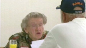 VIDEO: Senior citizens speed date at a retirement center in Oregon.