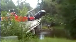 VIDEO: Two childrens bodies are recovered from a car in a South Carolina river.