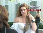 VIDEO: Rachel Uchitel has no comment on rumors that shes seeing the golfer in Florida.
