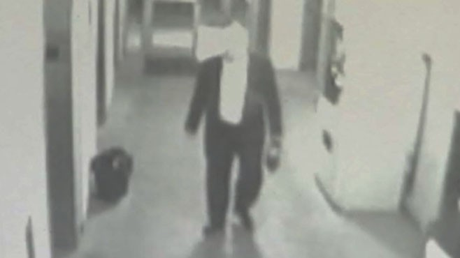 VIDEO: Surveillance footage shows David Wheeler disoriented the day before his death.