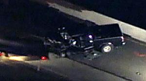 Photo: 2 dead, 3 injured in wrong-way OC freeway crash