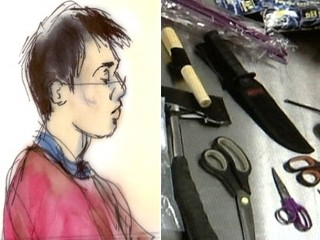 Man with Weapons at LAX in Court