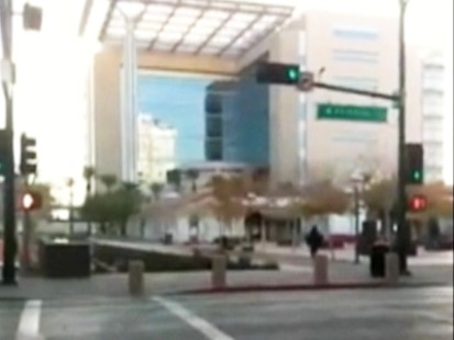 Video: Las Vegas shooting can be heard in video posted on YouTube.