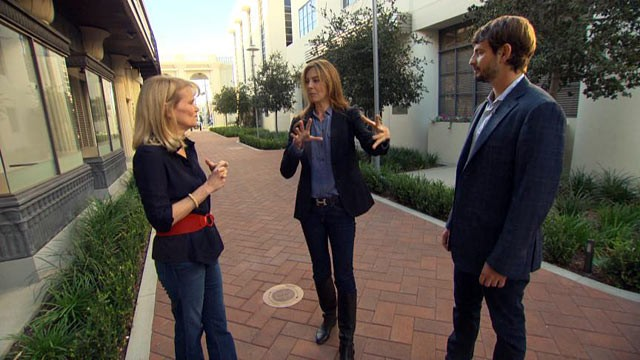 "PHOTO: In an exclusive ""Nightline"" interview, ABCs Martha Raddatz talks with Oscar-winning director Kathryn Bigelow and screenwriter Mark Boal about their new controversial film, ""Zero Dark Thirty."""