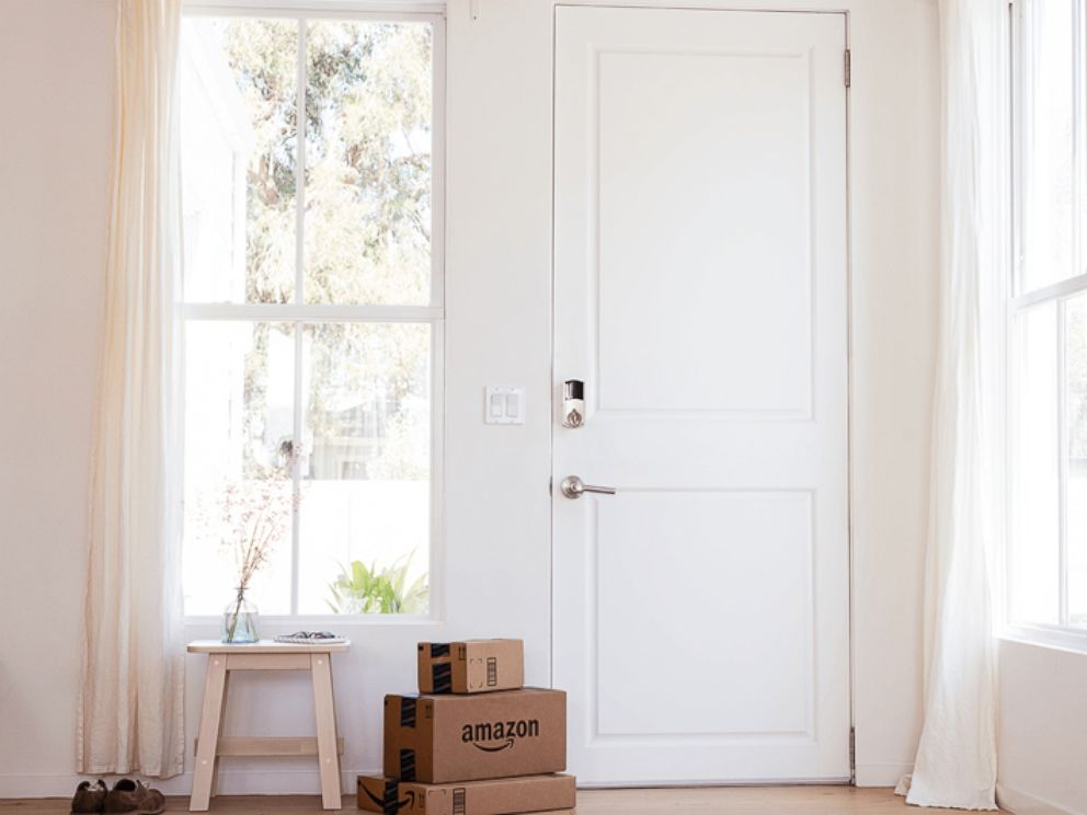 Amazon device allows couriers to enter your house to deliver package
