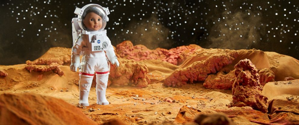 "PHOTO:American Girls 2018 girl of the year doll, who was revealed on ""GMA"" today, is Luciana Vega, an aspiring astronaut who hopes to be the first person to go to mars."