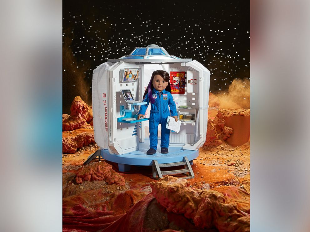 American Girls 2018 girl of the year doll who was revealed on GMA today is Luciana Vega an aspiring astronaut who hopes to be the first person to go to mars