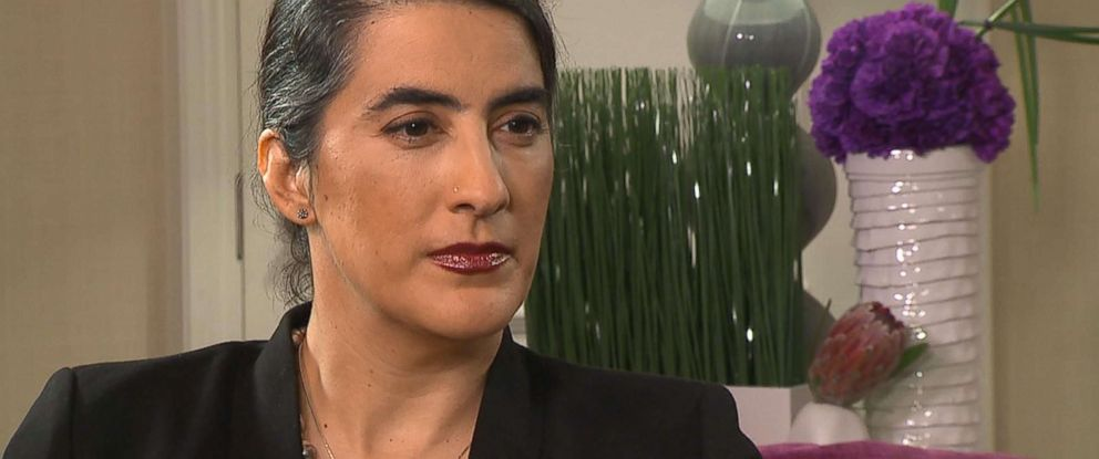 PHOTO: Anila Daulatzai speaks out about her incident on a Southwest Airlines flight in an interview with ABC News.