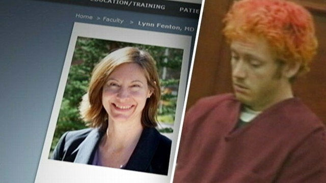VIDEO: Dr. Lynne Fenton contacted a University of Colorado police officer weeks before theater shooting.