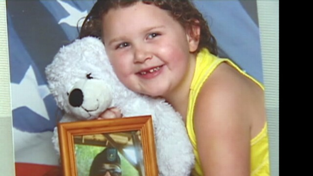 VIDEO: DOT workers in Washington drove four hours to give the toy bear to Justice Wadsworth.