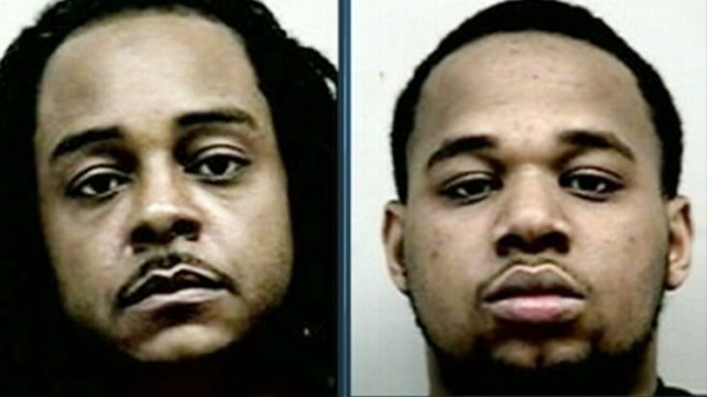 VIDEO: Two men in Georgia were arrested for allegedly stealing frozen chicken wings from a food distribution center.