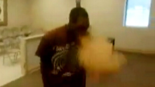 VIDEO: Mentally-challenged man ate a mouthful of the spice at a Miss. police station.