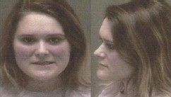 VIDEO: Authorities say Kayla Ashlyn Bonkowski, 19, put bleach in a glass of tea after a fight over dirty dishes.