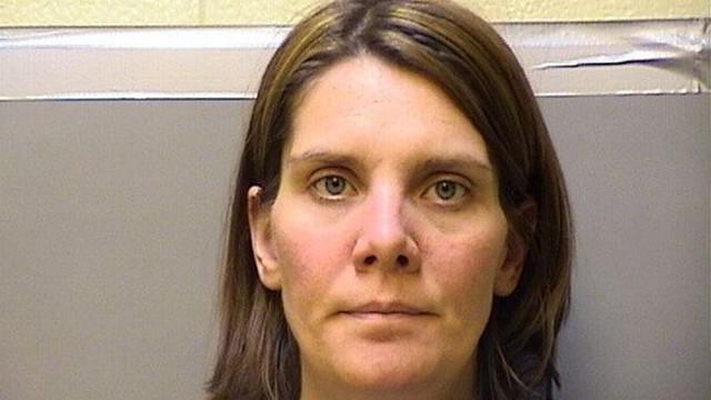 VIDEO: Julie Franck, 36, was arrested for stealing her 55-year-old moms engagement ring and credit cards.