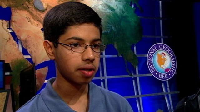 VIDEO: Rahul Nagvekar, 14, from Texas wins $25,000 scholarship in national competition.
