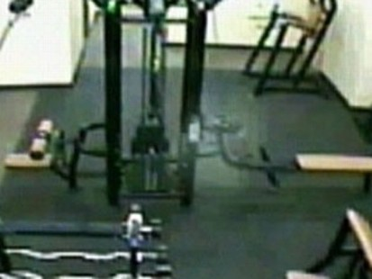 VIDEO: Members of a Kansas gym are abuzz over what could be a ghostly encounter.