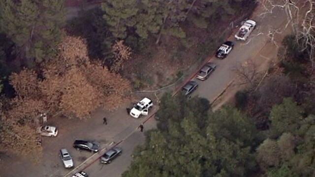 VIDEO: Dog walkers discovered the severed head in a bag during Hollywood Hills hike.