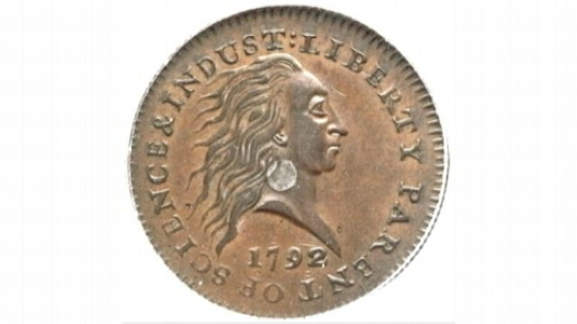 VIDEO: 1792 copper penny with silver center could fetch more than one million dollars.