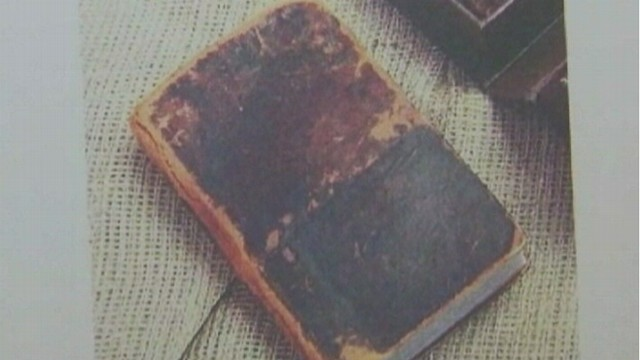 VIDEO: Helen Schlie says the 182-year-old Book of Mormon was stolen from her Arizona store.