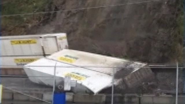 Video: Mudslide Derails Freight Train in Washington State