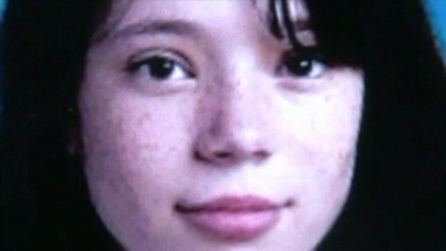 VIDEO: California detectives take cheek swabs from classmates of slain 13-year-old girl.