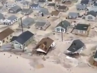 Watch: Hurricane Sandy: New Jersey Beach Town Under Water