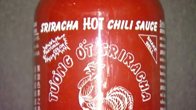 VIDEO: Lawsuit filed against Huy Fong Foods claims the Sriracha chili plants smell is a public nuisance.