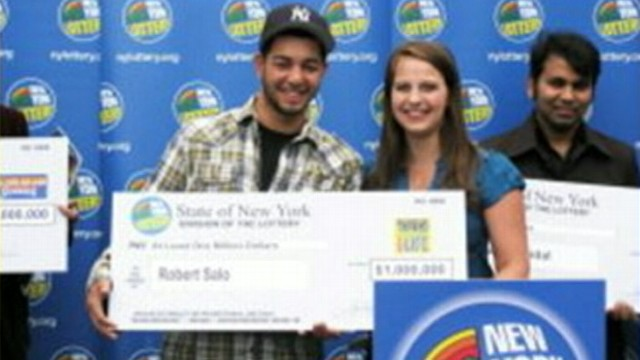 VIDEO: High school senior wins lottery scratch-off game days before graduation.