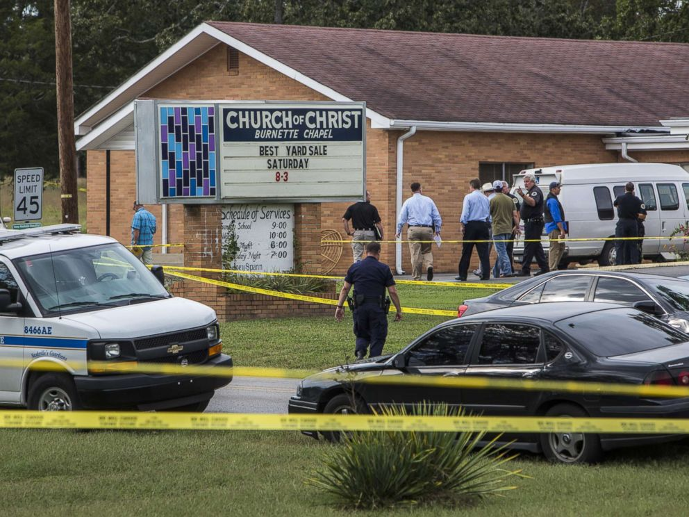 Christ Church Shooting Photo: Suspect In Deadly Church Shooting Described As 'deep