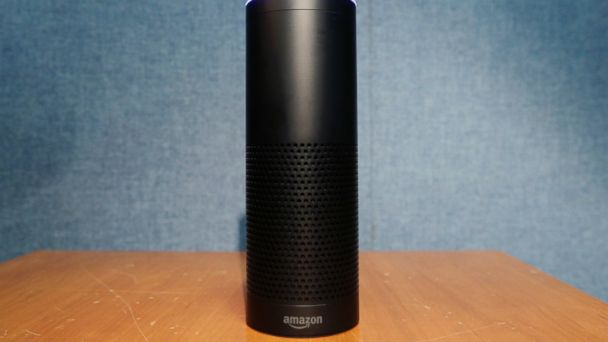 PHOTO: Amazon's Echo speaker, which responds to voice commands, in New York, July 29, 2015.