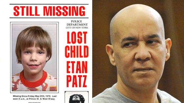 PHOTO: An undated flyer distributed by the New York Police Department of Etan Patz who vanished in New York on May 25, 1979. Pedro Hernandez appears in Manhattan criminal court in New York, Nov. 15, 2012.