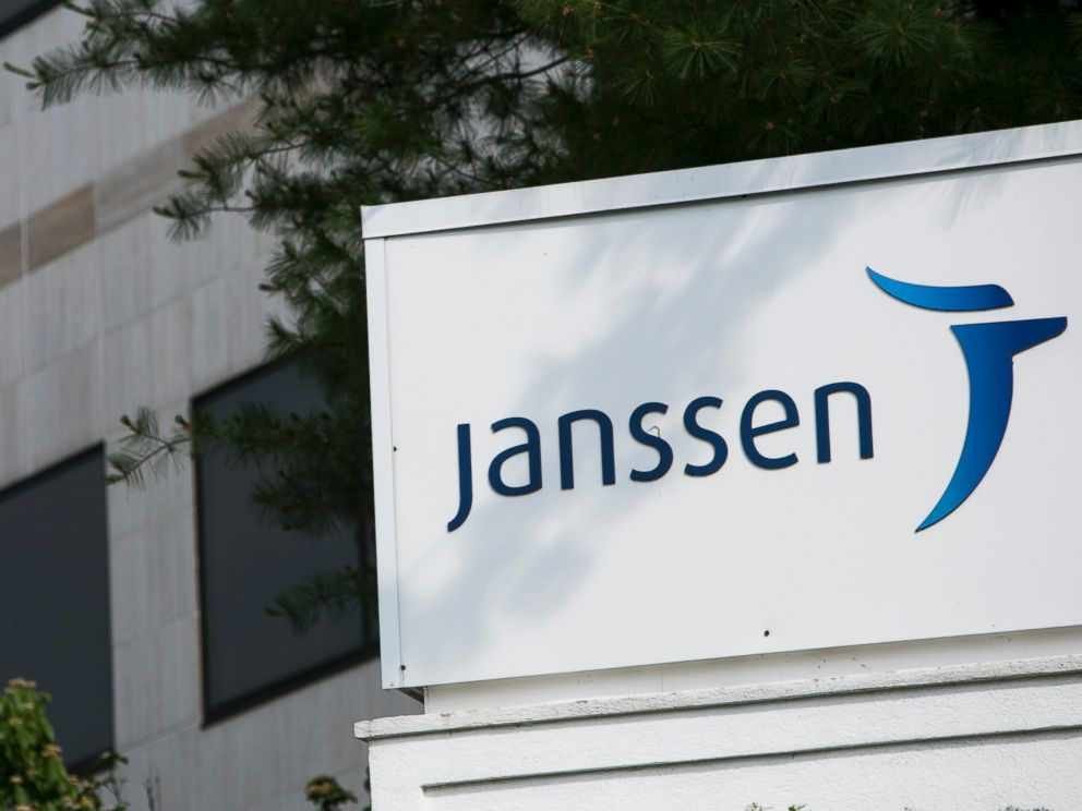 PHOTO: The sign outside of a facility occupied by Janssen Pharmaceuticals, a subsidiary of Johnson & Johnson, is seen in Somerville, N.J. on May 31, 2015.