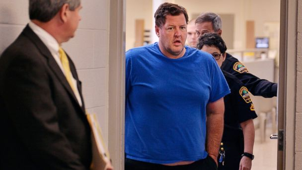 PHOTO: Todd Kohlhepp is escorted into a Spartanburg County magistrate courtroom, Friday, Nov. 4, 2016, in Spartanburg, S.C.