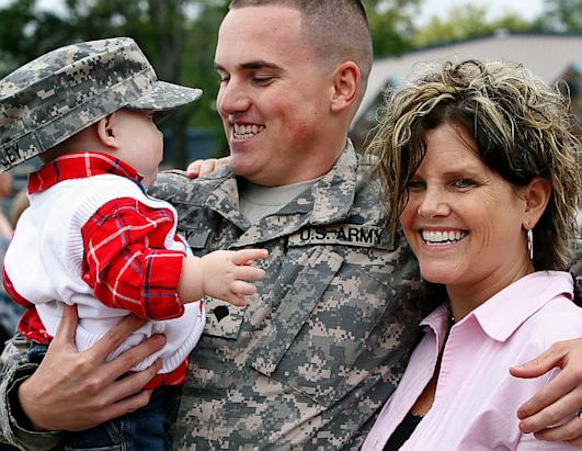Military Heroes Return Home
