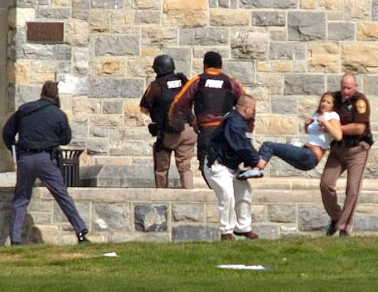 5th anniversary of  virginia tech shooting