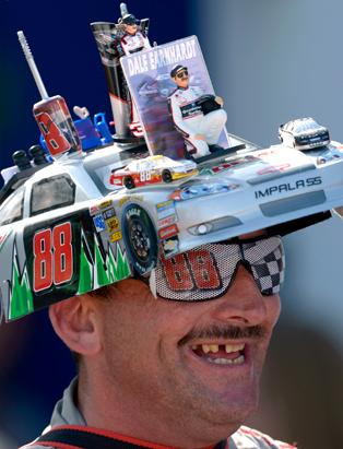 nascar daytona 2013 wackiest fan fashion photos abc news image by