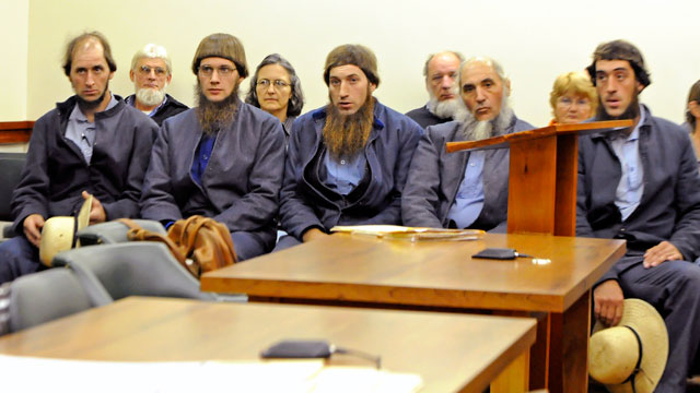 PHOTO: Amish Men Charged with Hate Crimes for Beard Cutting