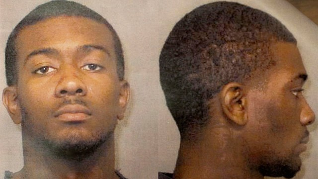 PHOTO: Desmonte Leonard, 22, of Montgomery, Ala., the suspect wanted for fatally shooting three people, including two former Auburn University football players, and wounding another three people during a party at an apartment complex near the school, Sund
