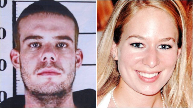 PHOTO: Joran van der Sloot is seen here in his police mug shot outside San Pedro prison where his murder trial is held in Lima, Peru, Jan. 11, 2012. | This is undated family photo originally released by Marcia Twitty shows Natalee Holloway of Mountain Bro