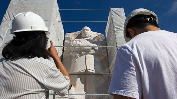 ap MLK Memorial kb 130815 16x9 608 MLK Memorial to Be Completed In Time For Anniversary
