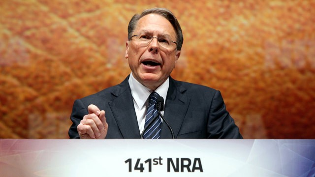 PHOTO:Wayne LaPierre Jr., Executive Vice President and Chief Executive Officer of the National Rifle Association