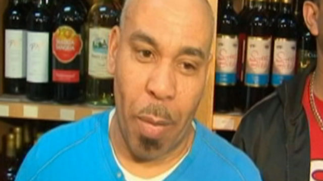 PHOTO: Pedro Quezada, 44, showed up Eagle Liquor in Passaic, N.J., March 25, 2013 and claimed to be the winner of the $338 million Powerball